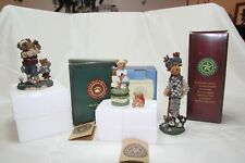 3- Boyd's Figures, Trinket Box Putt are Friends Fore, Ziggy The Duff, Arnold P