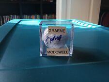 Graeme McDowell Signed 2019 US Open Golf Ball Psa Dna PGA Pebble Beach