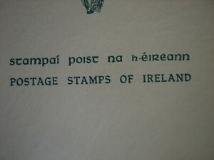 1922-1954  Postage Stamps of Ireland Presentation Booklet  Complete W/ 70 Stamps