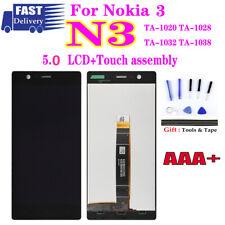 For Nokia 3 N3 lcd Display Touch Screen Assembly TA-1020 TA-1028 TA-1032 TA-1038