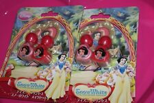 2 SET  Disney's SNOW WHITE 2-piece Nail Polish PINK