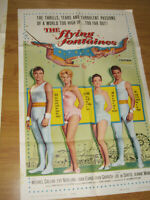 The Flying Fontaines Original 1sh Movie Poster