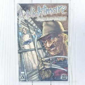 A Nightmare On Elm Street Special Platinum Foil Edition w/ COA Sealed Never Open