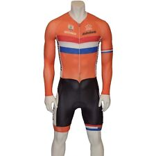 BIO RACER RABOBANK PRO 3 M Zeitfahranzug speedsuit cycling skinsuit time trial