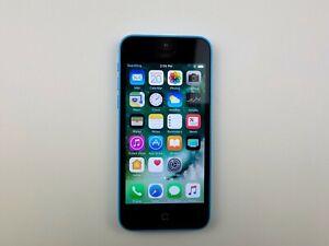 Apple iPhone 5c (A1532) 8GB - Blue (GSM Unlocked) Smartphone Clean IMEI K5860