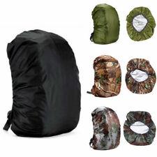 US Elastic Backpack Rain Cover Waterproof Hiking Outdoor Sport for 35-70L Bags