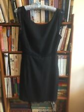 Asos Glamorous LBD Black Lace Cut Out Mini Fitted Tailored Bodycon Dress UK 8