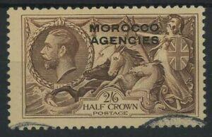 Morocco Agencies 1935 2/6 Sea Horse used SG73
