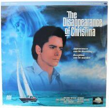 DISAPPEARANCE OF CHRISTINA LASERDISC Sealed NEW 90s John Stamos LD NOT On DVD !