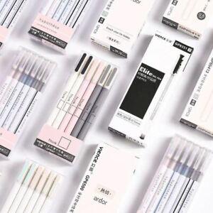 3 Pcs 0.5mm Gel Pens Cute Simple Kawaii Neutral Pen Kids Girls Gift School Offic