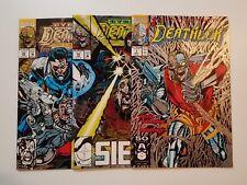 Deathlok #1, 19 & 25 Nm Lot (Marvel,1991) Collins, Hellinger & Seige! Cyberwar!