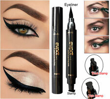 Winged Eyeliner Stamp Waterproof Makeup Cosmetic Eye Liner Pencil Black Liquid @