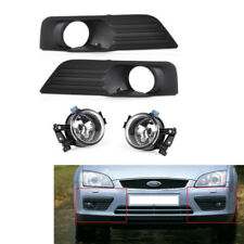 High Car Fog Light Lamp With Grille Kit For Ford Focus 05-07 06 2.0L