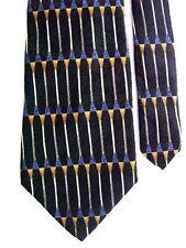 """Pierre Cardin Men's Silk Novelty Neck Tie Black Multi 4 1/8"""" x 59"""""""