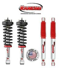 Rancho Quicklift Front Struts & Rear Shock Absorbers Kit for Ford F150 04-08 4WD