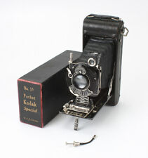 NO. 1A POCKET KODAK SPECIAL AUTOGRAPHIC, 130/4.5 K. A. (DIRTY), BOXED/cks/194205