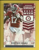 Kenyan Drake RC  2016 Contenders Draft Rush Week Rookie Card # 8  Dolphins