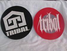 Tribal DJ Turntable Slipmats Technics Record Player Hip Hop Rap Vinyl OOP
