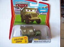 Disney World of Cars - SALUTING SARGE -  Chase - RARE - 2009