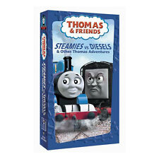 Thomas the Tank Engine - Steamies vs. Diesels & Other Thomas Adventures (VHS,...