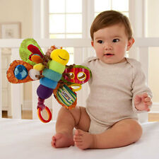 Toddler Soft Rattle Plush Toy Learning Activity Educational Baby Shower Gift