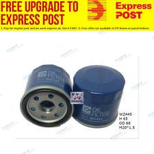 Wesfil Oil Filter WZ445 fits Nissan Pulsar 1.6 (N16),1.8 (N16),2.0 GTi (N15)