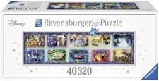 RAVENSBURGER WORLD'S LARGEST PUZZLE MEMORABLE DISNEY MOMENTS 40,320 PCS  #17826