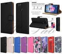 For Huawei Y6 2018, Honor 7A Magnetic Leather Wallet Shockproof Phone Case Cover