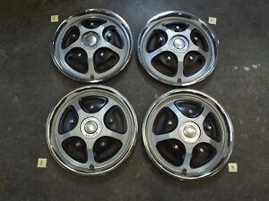 "15"" Mag Wheel Covers/Hub Caps 1976 1977 1978 1979 Ford F100 F150 Econoline Van"
