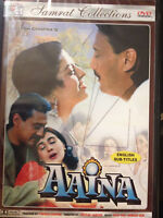 Aaina, DVD, Samrat Collections, Hindu Language, English Subtitles, New