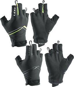 LEKI Nordic Walking Handschuhe »Multi Breeze Short« Fingerhandschuh Schwarz NEU