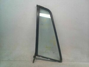 Drivers Rear Stationary Non-Privacy Vent Glass for 91-97 Isuzu Rodeo