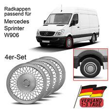 4x Radkappen Für Mercedes Sprinter W906 (06-18) Radblenden 16