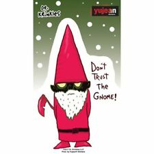 Aufkleber Dr. Krinkles Don't Trust The Gnome-Gartenzwerg Fun Lustig