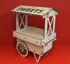 Candy Cart Cup Cake trolley Sweet tray MDF Kit Wedding cellebrations Table stand