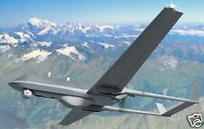 Super Ranger RUAG UAV Plane Desktop Kiln Dry Wood Model Large Free Shipping New