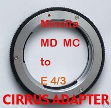 Minolta MD MC lens adapter Olympus 4/3 E-3 E-520 E-420