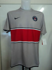 PSG Paris Saint Germain Player Issue Shirt by Nike Large Grey Maillot