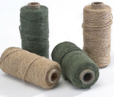 1 x 75m OASIS NATURAL JUTE MOSSING TWINE FOR FLORISTRY, WREATH & GARDEN STRING
