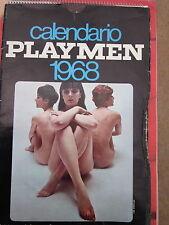 Playmen - Calendario 1968, nuovo! - Erotismo - Playboy - pin up - playmates-nudo