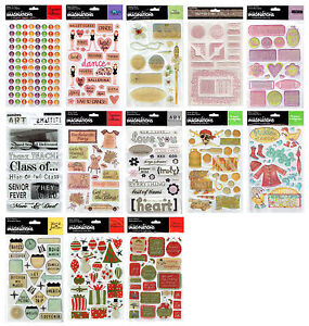 Creative Imaginations Epoxy Stickers - Multi Listing Lots Themes incl Christmas