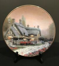 "Thomas Kinkade 1992 ""McKenna's Cottage� of England Collectors Plate"