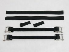 OTG Scuba Diving Large Size Stainless Steel Spring Fin Straps with Buckle OG-33L