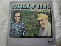 JOHN WILLIAMS JULIAN BREAM JULIAN & JOHN VINYL LP ALBUM 1972 RCA RED SEAL EX