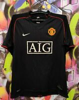 Manchester United 2007 2008 Away Football Shirt Soccer Jersey Nike Mens size L
