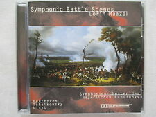 Symphonic battle scenes-Beethoven, Tchaikovsky, Liszt-Lorin Maazel-CD