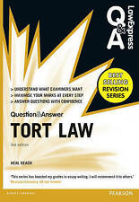 Law Express Question and Answer: Tort Law (Q&A Revision Guide) by Neal Geach...