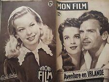 "MON FILM 1949 N 150 ""AVENTURE EN IRLANDE ""avec DOUGLAS FAIRBANKS - HELENA CARTER"