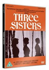 THREE SISTERS. Laurence Olivier, Derek Jacobi, Joan Plowright. New sealed DVD.