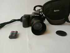 Nikon F50 analoge Spiegelreflex Kamera SLR + Objektiv + Tasche + Gratis Versand